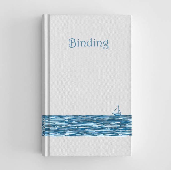 notebook binding new