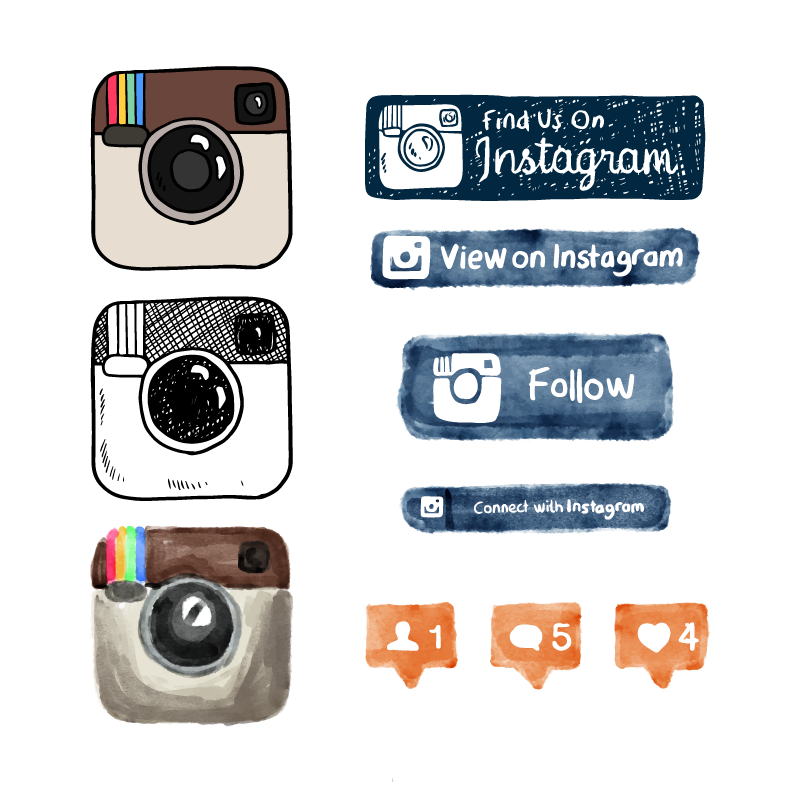 Instagram vector logo - Instagram logo vector free download