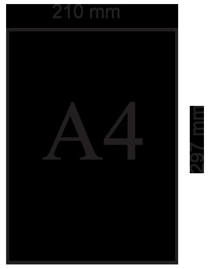 ukuran-A4